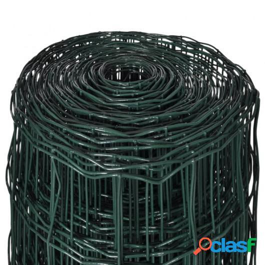 Valla Euro Fence 10x1,7 m con malla de acero 100x100 mm