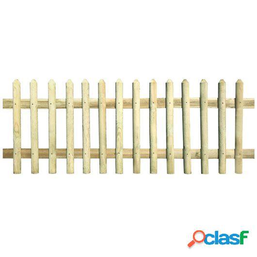 Valla de madera de pino impregnada FSC 170x80 cm 5/7cm