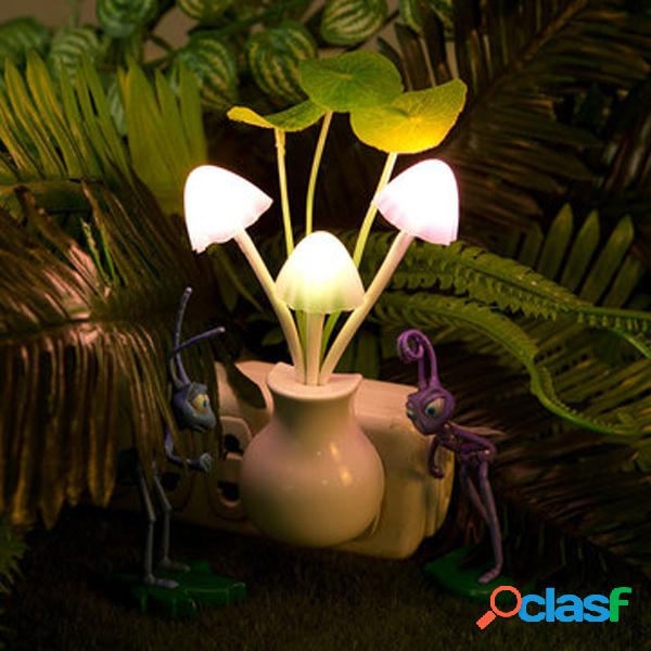 Vaso de las setas de las luces del LED que disminuye la luz