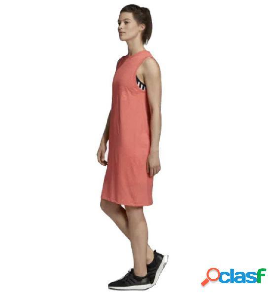 Vestido Casual Adidas W Sid Dress M Naranja