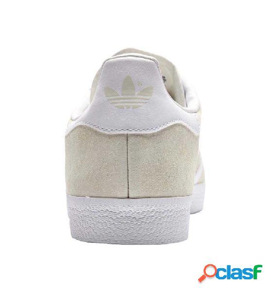 Zapatillas Casual Adidas Gazelle Casbla/blanco 46 Beige