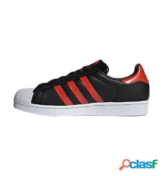 Zapatillas Casual Adidas Superstar M 40 2/3 Negro