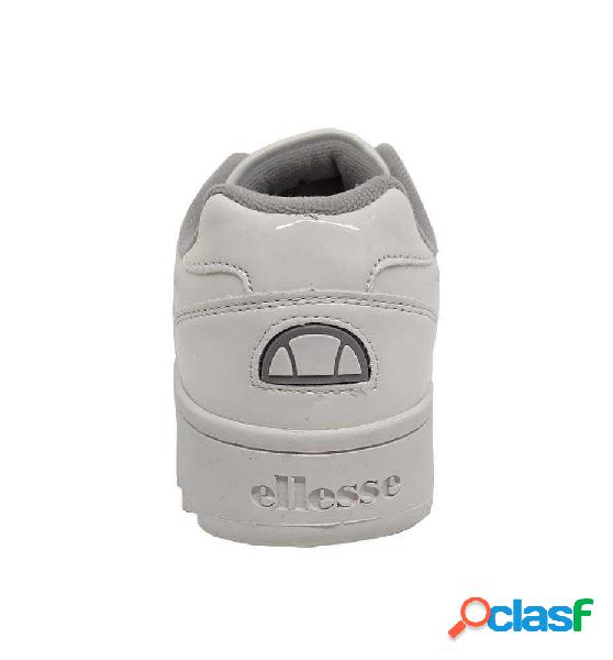 Zapatillas Casual Ellese Plativo Patent 38 Blanco