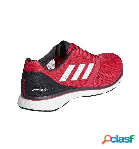 Zapatillas Running Hombre Adidas Adizero Adios 4 M 42 Rojo