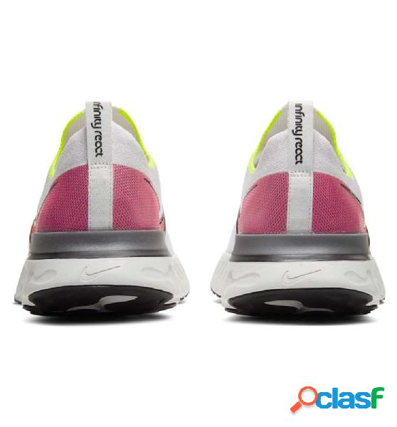 Zapatillas Running Nike Infinity Run Flyknit Irr 42.5 Blanco