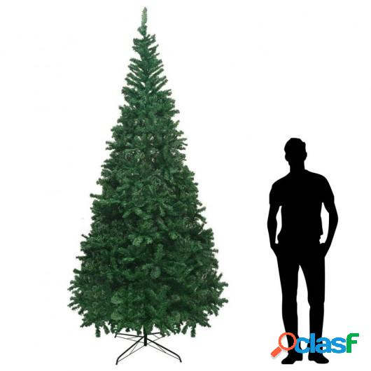 Árbol de Navidad artificial XL 300 cm verde