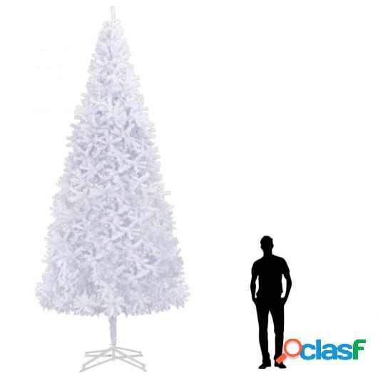 Árbol de Navidad artificial blanco 500 cm