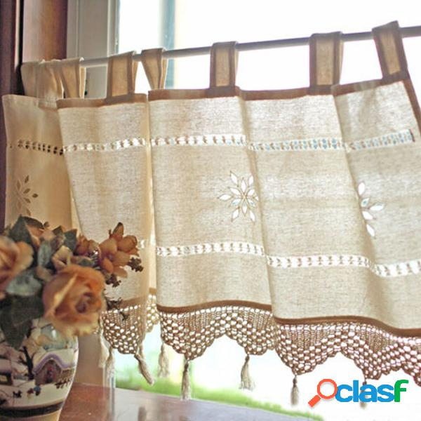 150X45 CM Estilo de país francés de algodón de lino de