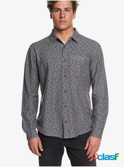 Baao - Camisa de manga larga para Hombre - Negro -