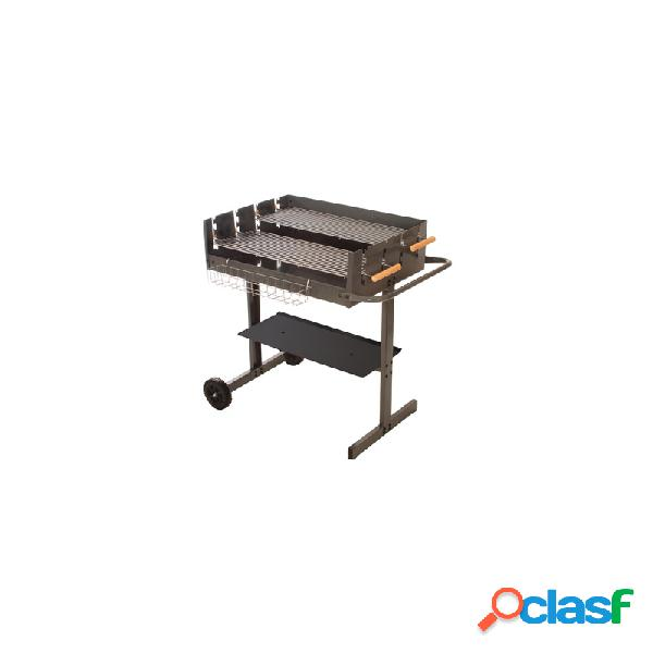 Barbacoa carbon 75 x 57 alperk box b7557 - incluye
