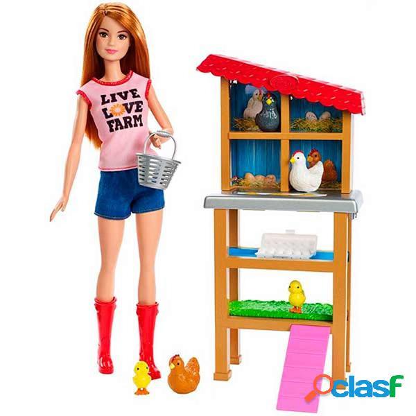 Barbie Quiero Ser PlaySet Granjera