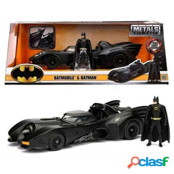 Batman Coche Batmóvil Metal 1:24 1989
