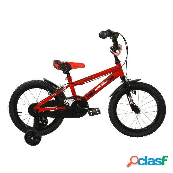 Bicicleta Apolon 14' Color Rojo