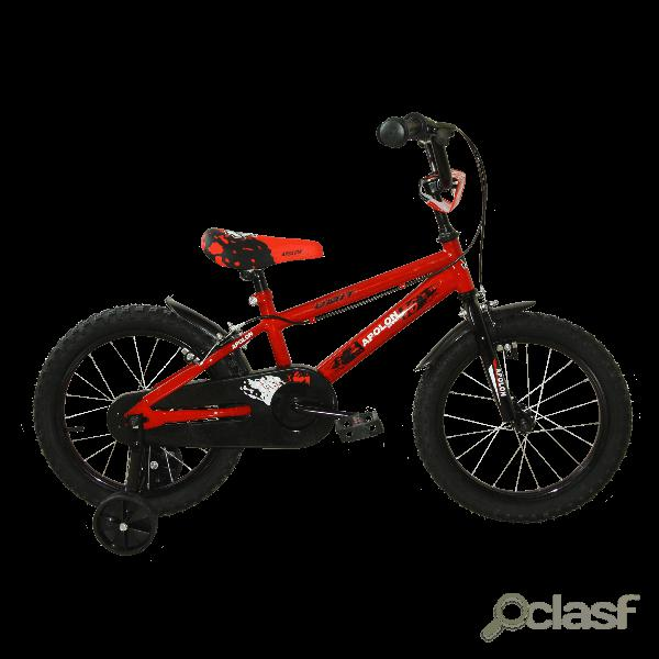 Bicicleta Apolon Roja 16'