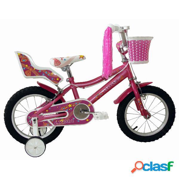 Bicicleta Lydia Rosa 14'