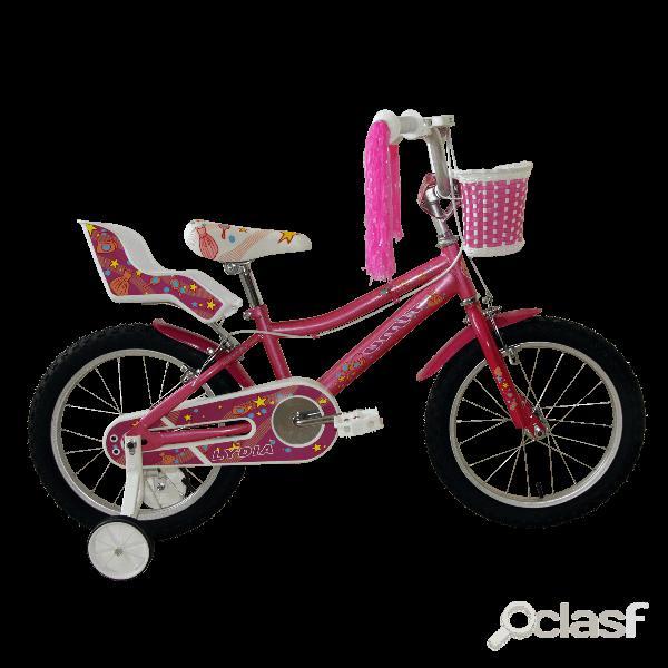 Bicicleta Lydia Rosa 16'