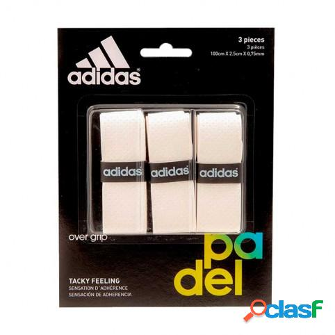 Blister overgrips Adidas 3 uds Blanco U Indefinido