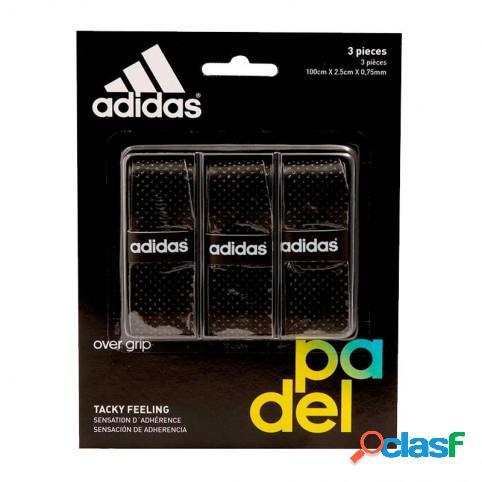 Blister overgrips Adidas 3 uds Negro U Indefinido