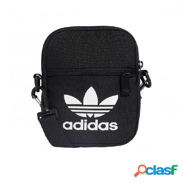 Bolsito Adidas Fest Bag Tref Negro U