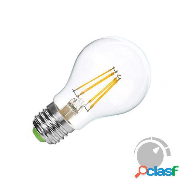 Bombilla led e27 cob filamento 4w regulable blanco cálido