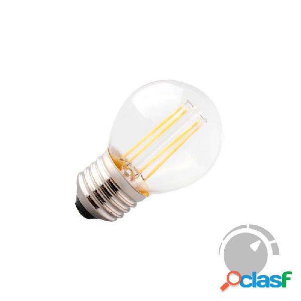 Bombilla led e27 cob filamento 4w small regulable blanco