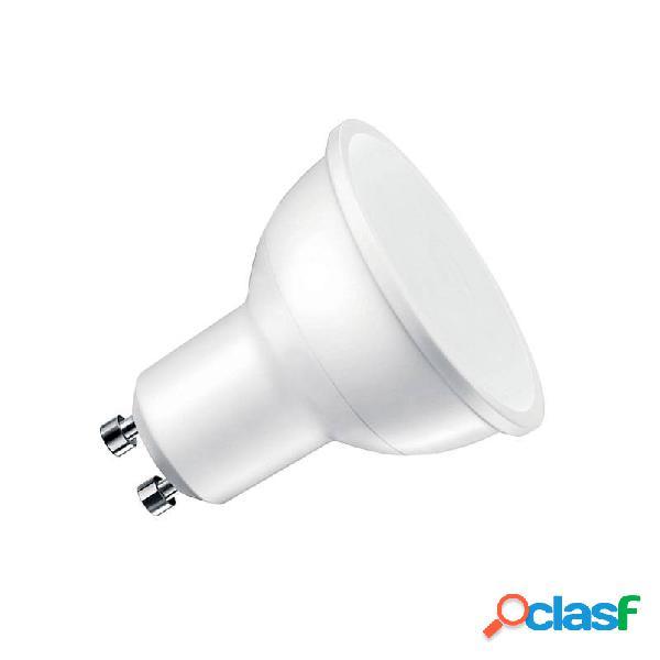 Bombilla led gu10 100º 7w blanco cálido