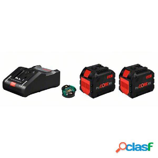 Bosch procore set 2 baterias 18v 12,0ah + cargador gal