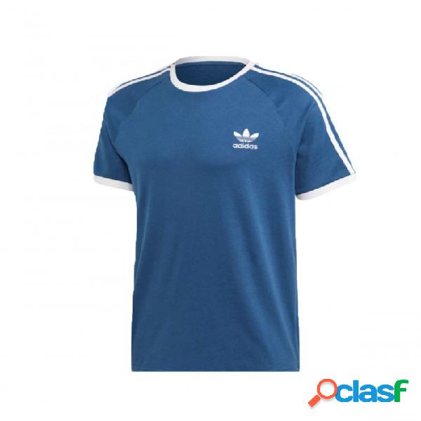 Camiseta Adidas 3-stripes Tee Azul S Small
