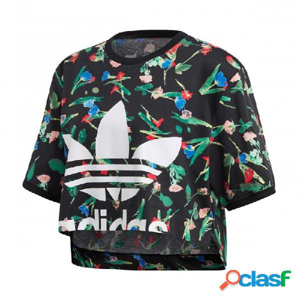 Camiseta Adidas Aop Tee 38 Negro