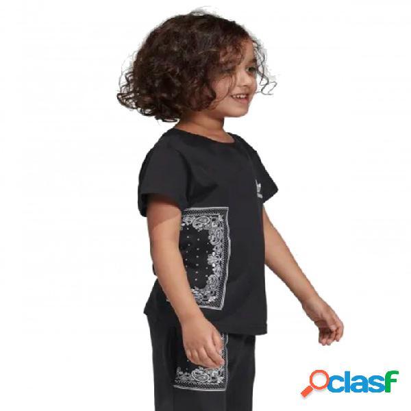 Camiseta Adidas Bandana Tee 3-4a Negro