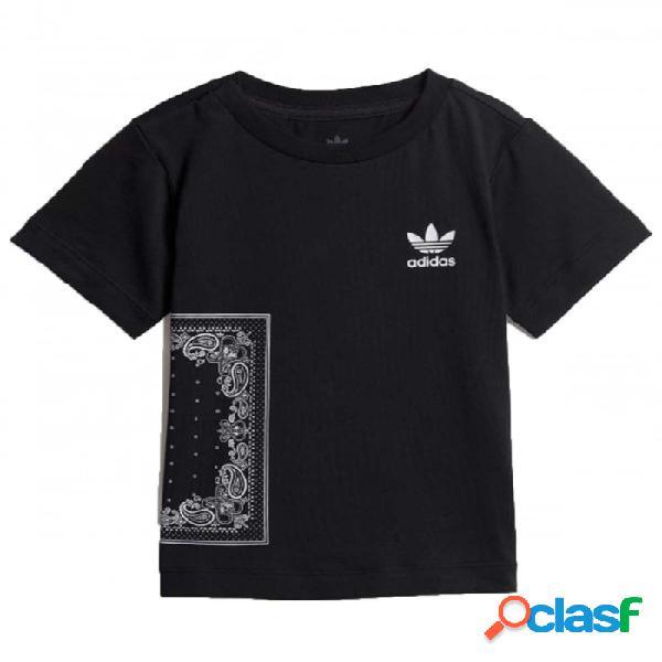 Camiseta Adidas Bandana Tee 3-6m Negro