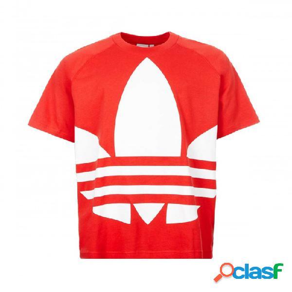 Camiseta Adidas Bg Trefoil Tee L Large Rojo