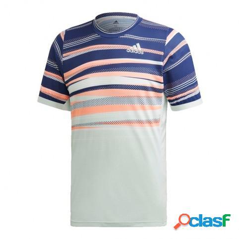 Camiseta Adidas Flft H.rdy Blanco/Azul M Indefinido