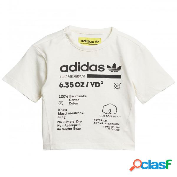 Camiseta Adidas I Kaval Tee 2-3a Blanco