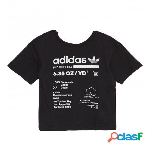 Camiseta Adidas I Kaval Tee 3-6m Negro