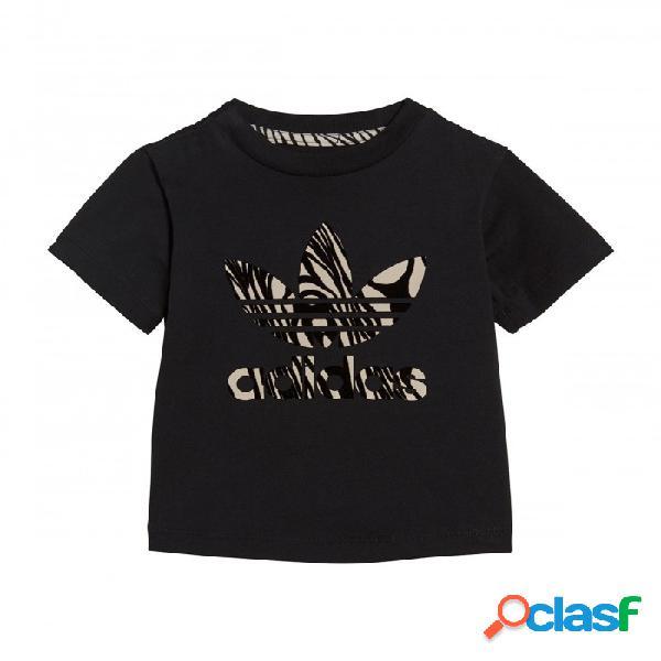 Camiseta Adidas I Zbr Tee 12-18m Negro