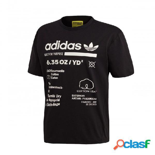 Camiseta Adidas Kaval Extra Large Negro Xl