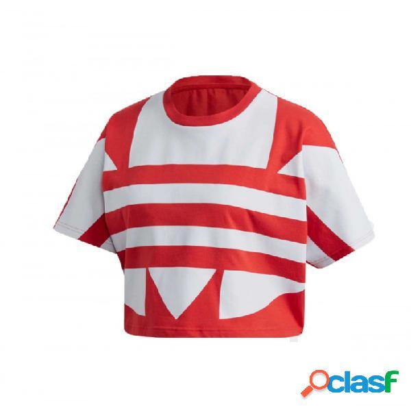 Camiseta Adidas Lrg Logo Tee 34 Rojo