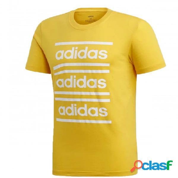 Camiseta Adidas M C90 Brd Tee Amarillo S Small