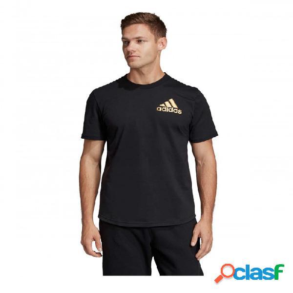 Camiseta Adidas M Sid Tee Ct Negro S Small