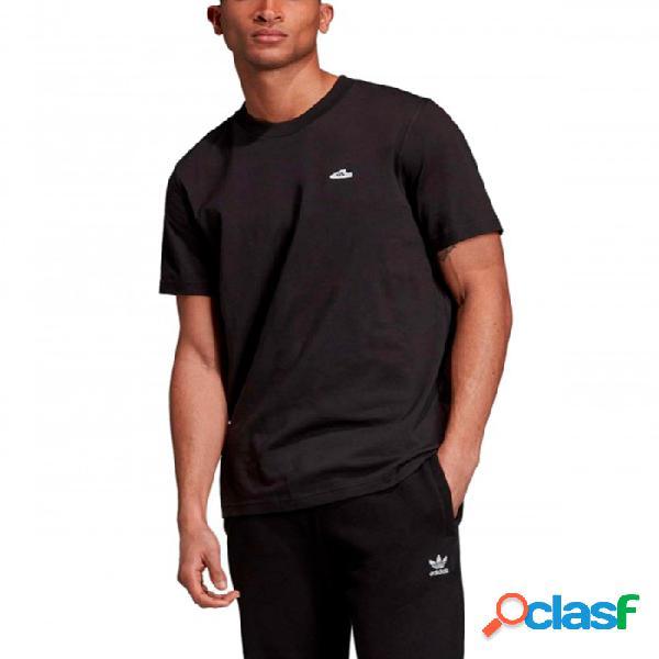 Camiseta Adidas Osr W Tee Extra Small Rojo Xs