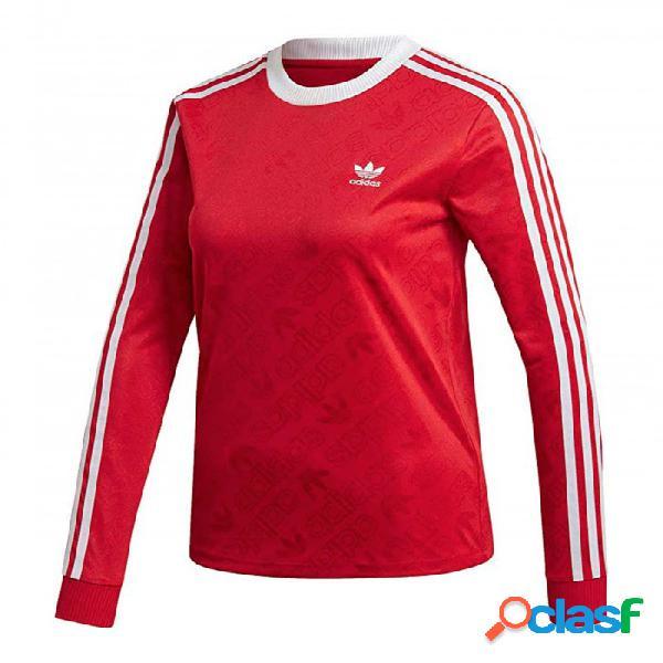 Camiseta Adidas Str Ls Tee 34 Rojo