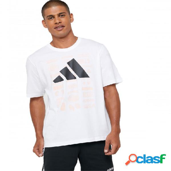 Camiseta Adidas Tp Ss Tee Blanco Extra Large Xl