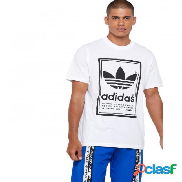 Camiseta Adidas Vintage Tee Blanco L Large