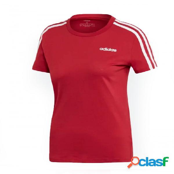 Camiseta Adidas W Slim Tee Rojo S Small