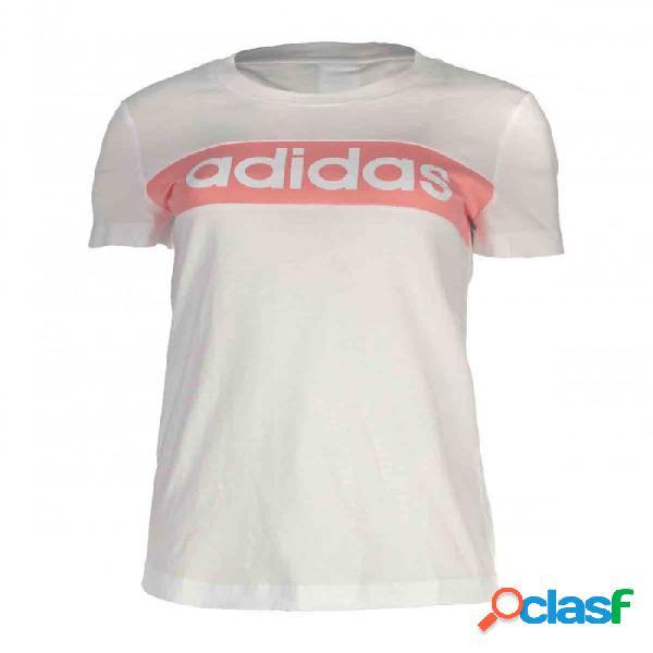 Camiseta Adidas W Trfc Cb Tee Blanco L Large