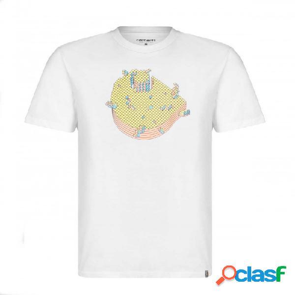 Camiseta Carhartt Pixel T-shirt Blanco Blanco Xl