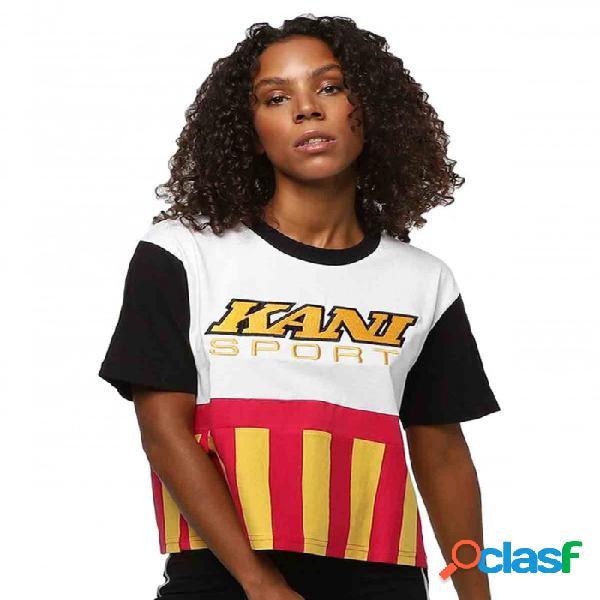 Camiseta Kk Sport Block Blanco S Small