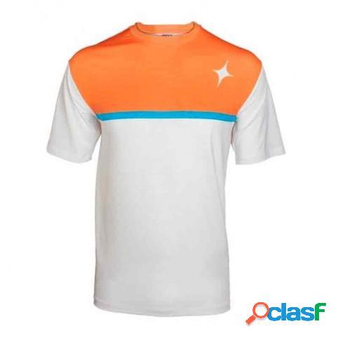 Camiseta Star Vie Break Ocre Blanco XL