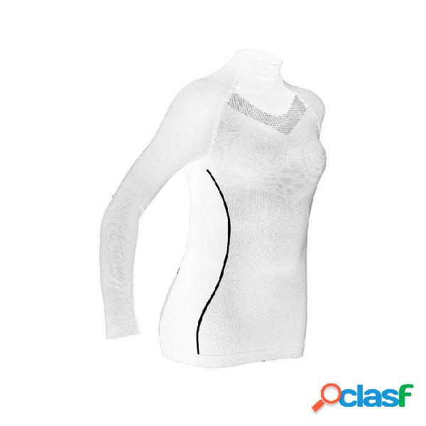 Camiseta Térmica Hg Sport 8070 Mujer Blanco Xs